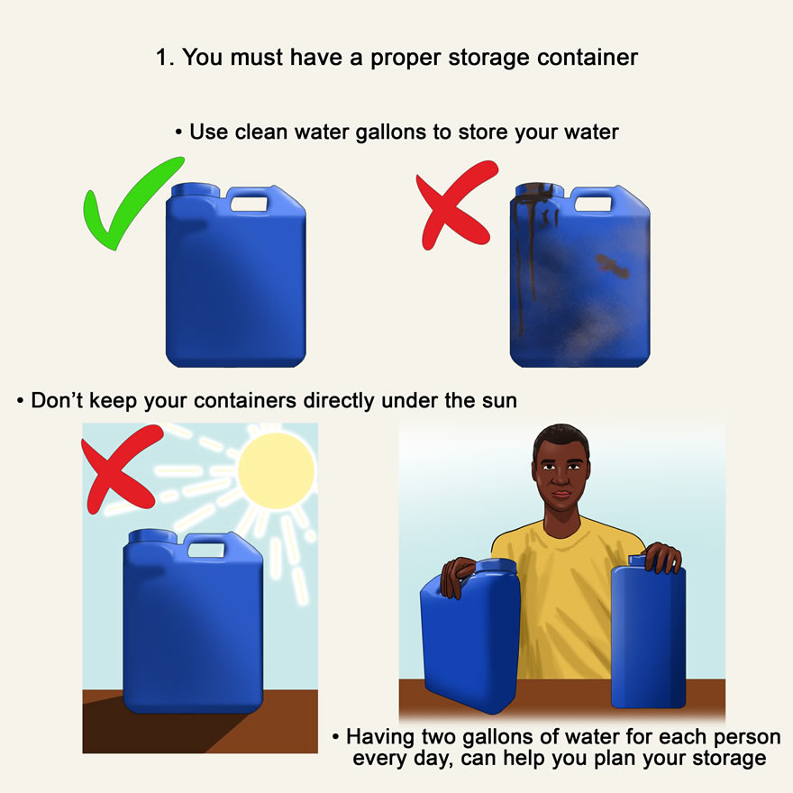 5 ways to store water